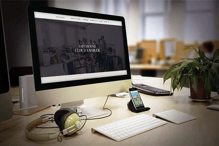 SAFEHOUSE Company Website Screenshot